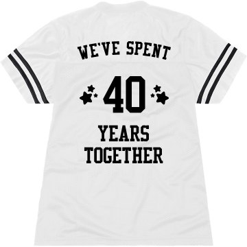 40th Anniversary Junior Fit Basic Bella Favorite Tee