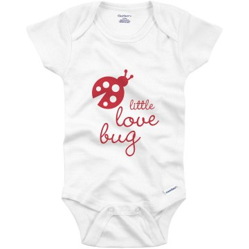 Little Love Bug Infant Gerber Onesies
