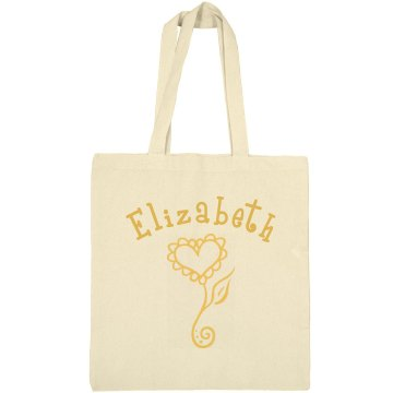 Personalized Bag Liberty Bags Canvas Bargain Tote Bag