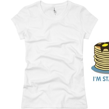 I'm Stacked Junior Fit Basic Bella Favorite Tee