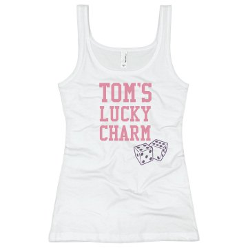 Tom&#x27;s Lucky Charm Junior Fit Basic Bella 2x1 Rib Tank Top