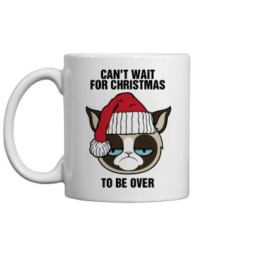 My Cat Hates Christmas 11oz Ceramic Coffee Mug