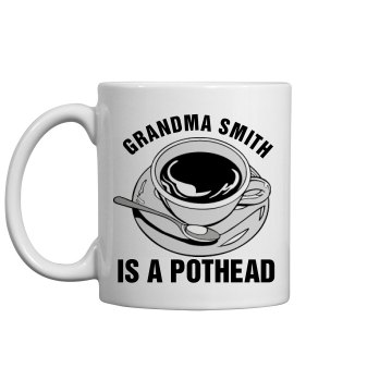 Grandma Loves Coffee 11oz Ceramic Coffee Mug