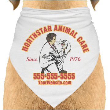 Veterinary Billboard Dog Bandana