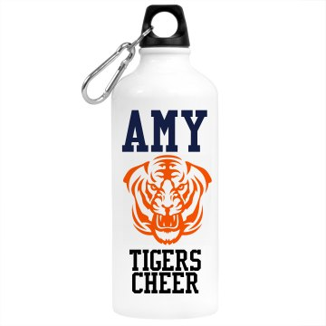 Amy&#x27;s Cheer Bottle Aluminum Water Bottle
