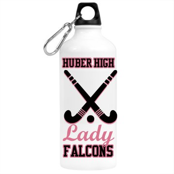 Field Hockey Bottle Aluminum Water Bottle