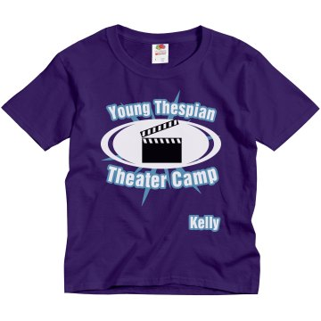 Young Thespian Theater Youth Gildan Ultra Cotton Crew Neck Tee