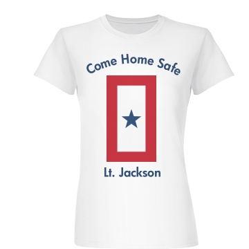 Deployed Soldier Junior Fit Basic Bella Favorite Tee