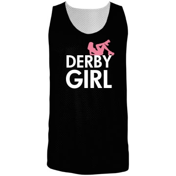 Derby Girl Jersey Badger Sport Mesh Reversible Tank