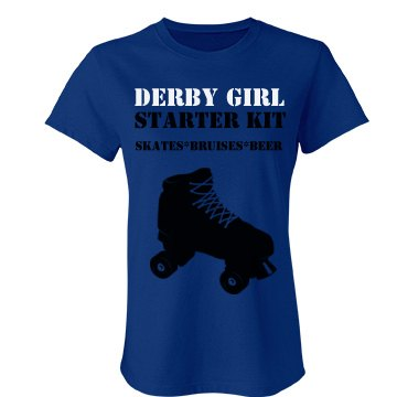 Derby Girl Kit Junior Fit Bella Favorite Tee