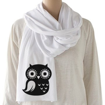 Design a Trendy Owl Scarf