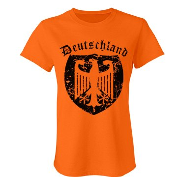 Deutschland Distress Junior Fit Bella Favorite Tee