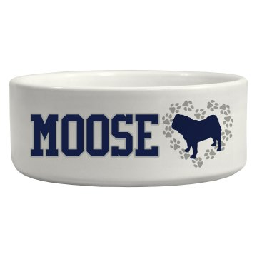 Custom Pet Bowl Ceramic Pet Bowl