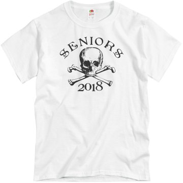 Senior Crossbones 2013 Unisex Basic Gildan Heavy Cotton Crew Neck Tee