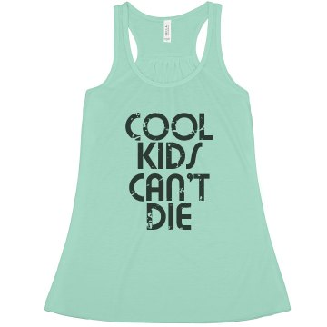 Cool Kids Misses Bella Flowy Lightweight Tank
