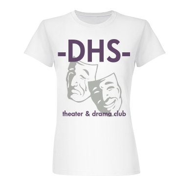 DHS Theater & Drama Club Junior Fit Basic Bella Favorite Tee