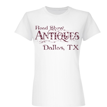 Distressed Antiques Tee Junior Fit Basic Bella Favorite Tee