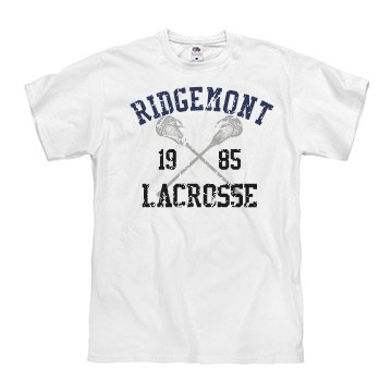 Distressed Lacrosse Tee