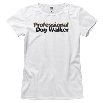 Dog Walker w/ Back