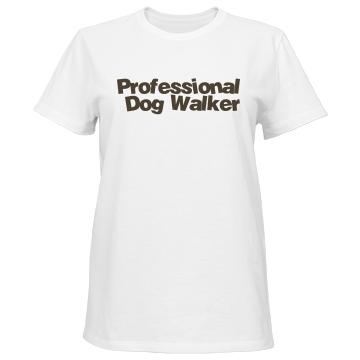 Dog Walker w/ Back