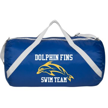 Dolphin Swim Bag