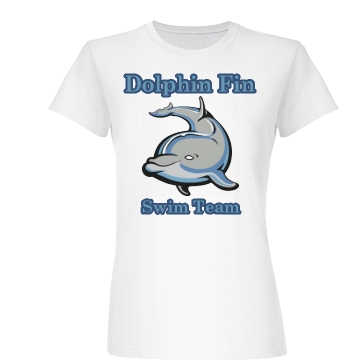 Dolphin Swim Team Junior Fit Ba