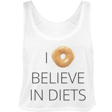 Donut Believe in Diets