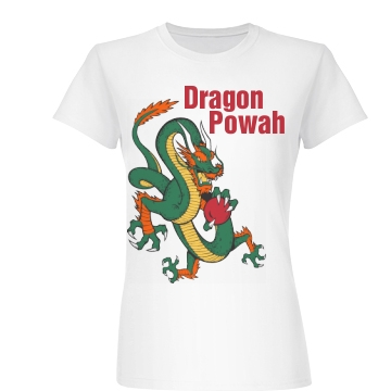 Dragon Powah Junior Fit Basic Bella Favorite Tee