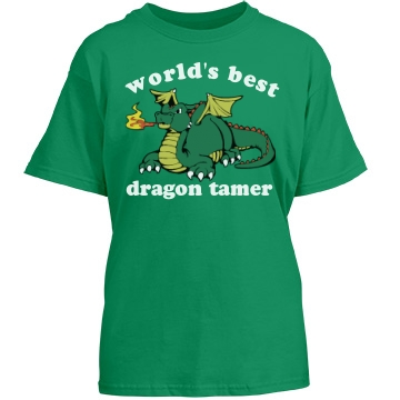 Dragon Tamer T-Shirt Youth Port & Company Essential Tee