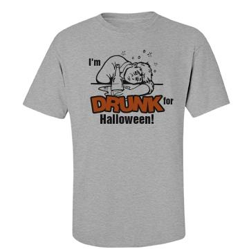 Drunk for Halloween Unisex Basi