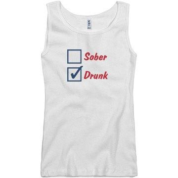 Drunk July 4th Tank
