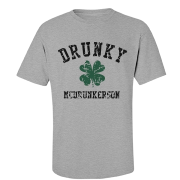 Drunky McDrunkerson Unisex Basic Port & Company Essential Tee