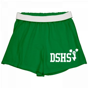 DSHS Cheer Short Junior Fit Soffe Cheer Shorts