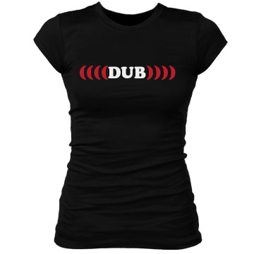 Dub Junior Fit Bella Sheer Longer Length Rib Tee