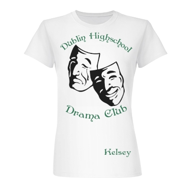 Dublin Drama Club Junior Fit Basic Bella Favorite Tee