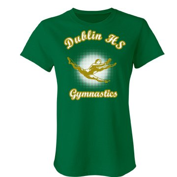 Dublin HS Gymnastics Junior Fit Bella Favorite Tee