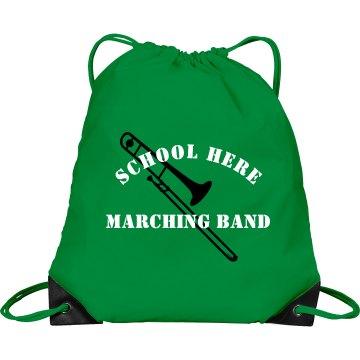 Dublin Marching Band  Port & Company Drawstrin