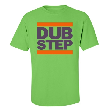 Dubstep Crewneck Unisex Gildan Heavy Cotton Crew Neck Tee