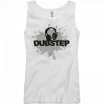 Dubstep Junior Fit Basic Bella 2x1 Rib Tank Top