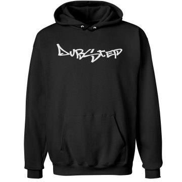 Dubstep Logo Script Unisex Hanes Ultimate Cotton Heavyweight Hoodie