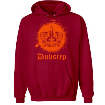 Dubstep Prince of Bass Unisex Hanes Ultimate Cotton Heavyweight Hoodie