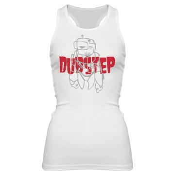 Dubstep Robo Tank Junior Fit Bella Sheer Longer Length Rib Racerback Tank Top