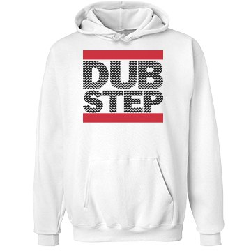 Dubstep Zig Zag Unisex Hanes Ultimate Cotton Heavyweight Hoodie
