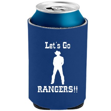Rangers Tailgating Fan The Official KOOZIE Can Kooler