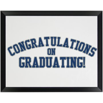 Grad Autograph Plaque Wood Plaque