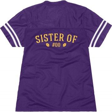 Football Sister Shirts