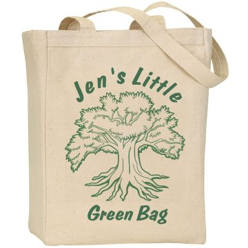 Earth Day Green Bag Liberty Bags Canvas Tote