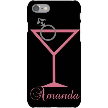 Amanda's Party iPhone Plastic iPhone 5 Case Black