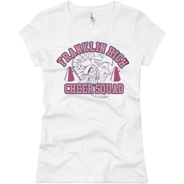 Aztec Cheer Squad Junior Fit Basic Bella Favorite Tee