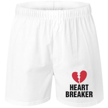 Heart Breaker Unisex Robinson Boxer Shorts